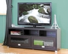 Warehouse Interiors Swindon TV Stand with Glass Doors BS-FTV-885