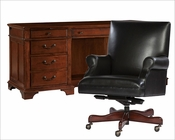 Weathered Cherry Office Set by Hekman HE-79271-SET