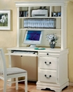 Wedgewood Single Pedestal Youth Computer Desk with Hutch CO40000