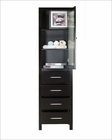 Wellmont 20in Espresso Side Cabinet by Virtu USA VU-MDC-512