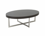 Wenge Top Coffee Table Oliver by Euro Style EU-28040