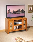 Whalen Entertainment TV Console in Cambridge Oak GO-DMECON-CB