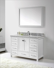 White 48in Single Bathroom Set Caroline Avenue VU-GS-50048-WMRO-WH