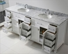 White 78in Vanity Caroline Parkway by Virtu USA VU-MD-2178-CAB-WH