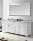 White Bathroom Set Caroline Parkway by Virtu USA VU-MD-2178-WMSQ-WH