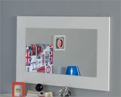 White Bedroom Mirror Made in Spain 701C London 33180LN