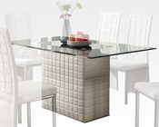 White Dining Table Abbie by Acme Furniture AC70718