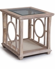 White End Table Lana by Magnussen MG-T3045-03