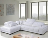 Modern Tufted Leather Sectional Sofa Set 44L0583