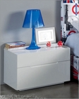 White Night Stand Made in Spain 701C London 33170LN
