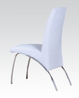 White Side Chair Pervis by Acme Furniture AC71107 (Set of 2)