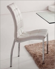 White Upholstered Dining Chair 33-365WT (Set of 2)