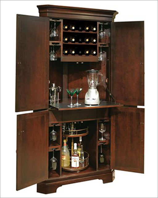 Wine Amp Bar Cabinet Norcross By Howard Miller Hm 695 111