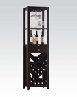 Wine Cabinet in Wenge by Acme Furniture AC12244