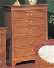 Winners Only 6 Drawer Chest Renaissance in Cherry WO-B1047N