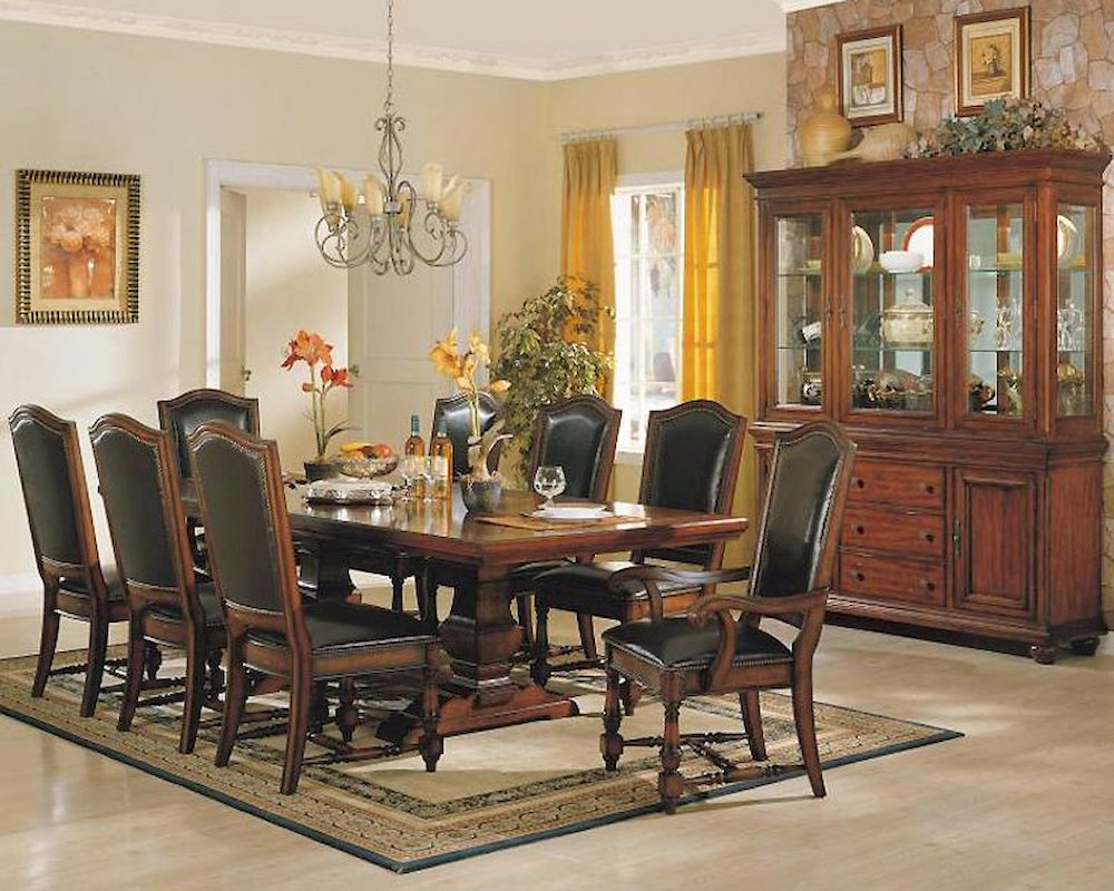 Winners Only Ashford 9 Pieces Dining Room Set Wo Da44100s1