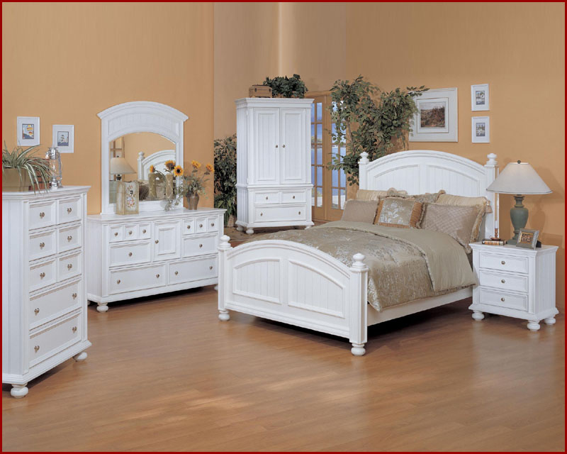 Winners Only White Bedroom Set Cape Cod WO-BP100