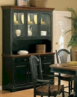Winners Only Cottage Cherry/Ebony Buffet/Hutch WO-DC560BHCE