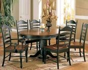Winners Only Cottage Cherry/Ebony Dining Set WO-DC4260CEs