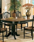 Winners Only Cottage Cherry/Ebony Dining Table WO-DC4296CE
