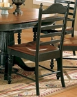 Winners Only Cottage Ladder Back Side Chair WO-DC550SCE (Set of 2)