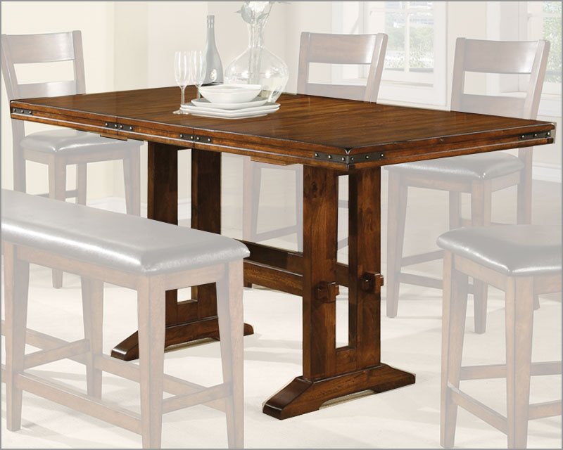 Winners Only Counter Height Dining Table Mango WODMGT3678