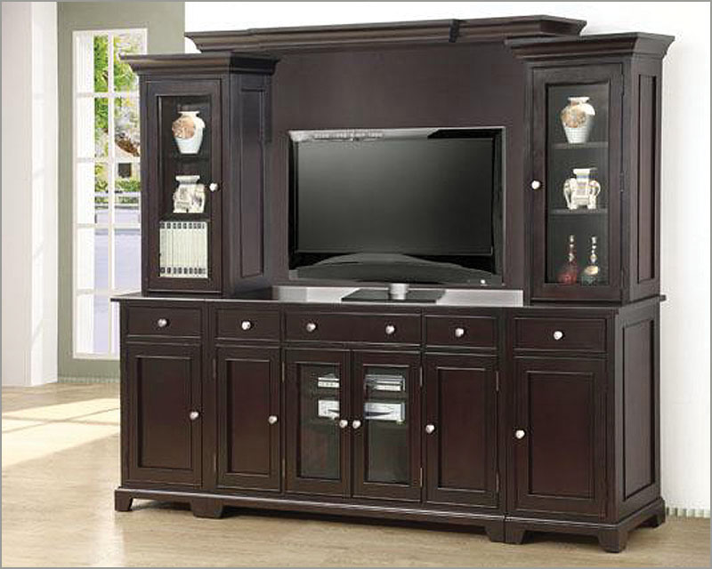 Winners Only Entertainment Wall Unit Metro In Espresso Wo Tm3
