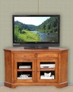 Winners Only Glass Door Corner TV Stand WO-TT155WB