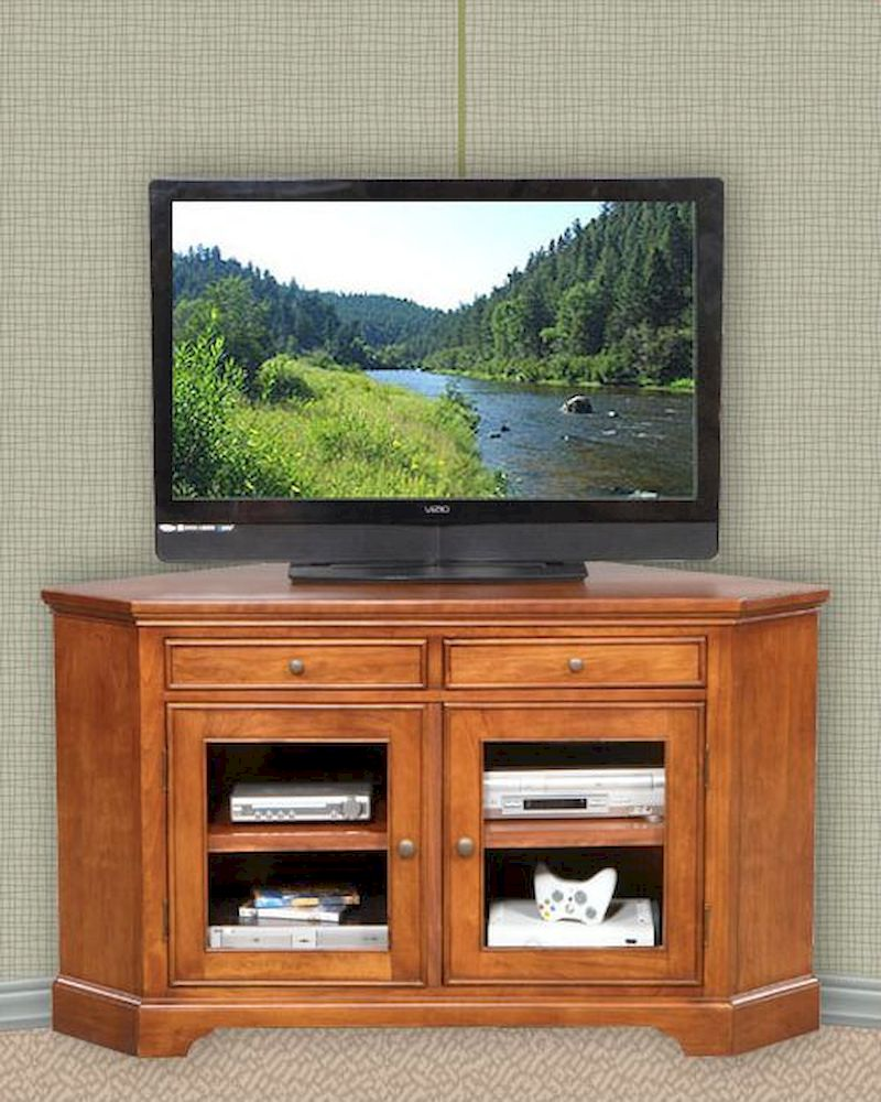 Winners Only Glass Door Corner Tv Stand Wo Tt155wb