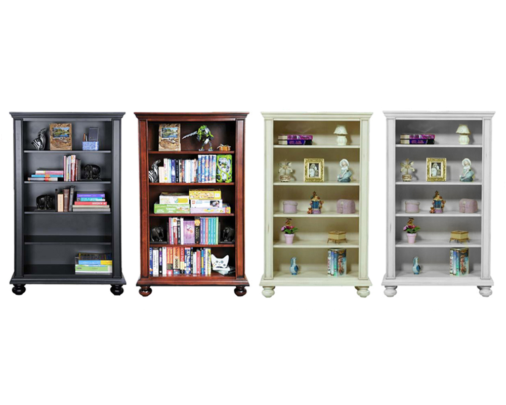 Winners Only Open Bookcase With Shelves Wo Bb136b