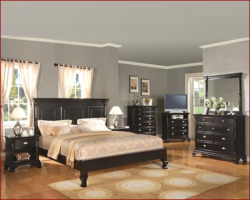 Winners Only Panel Bedroom Set Madison in Ebony WO-BME-1