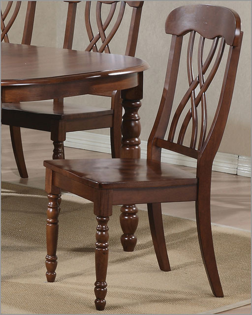 Pleasant Winners Only Ribbon Back Chair In Derby Brown Wo Dp1453Sd Short Links Chair Design For Home Short Linksinfo
