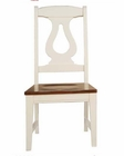 Winners Only Side Chair Renaissance in Cherry/White WO-BRP1050S