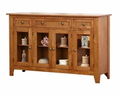 Winners Only Solid Wood Sideboard Santa Barbara