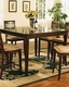Winners Only Topaz Cherry Counter Height Dining Table WO-DTTC25454