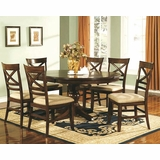 Winners Only Topaz Cherry Dining Room Set WO DTC24866s