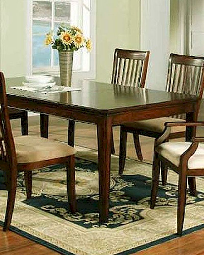 winners only topaz cherry dining table wo dtc24278. Black Bedroom Furniture Sets. Home Design Ideas