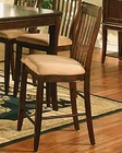 Winners Only Topaz Cherry Slat Back Pub Chair WO-DTTC245024(Set of 2)