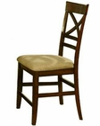 Winners Only Topaz Cherry X Back Pub Chair WO-DTTC245124 (Set of 2)
