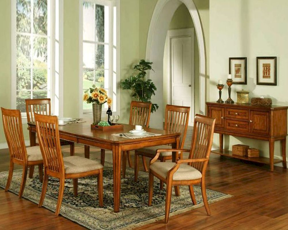 Winners Only Topaz Cinnamon Dining Room Set WO DT24278s