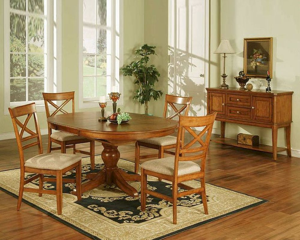 Winners Only Topaz Cinnamon Dining Room Set WO DT24866s