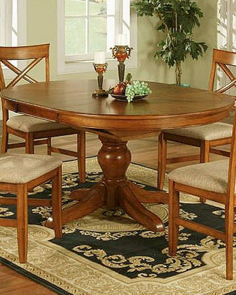 Winners Only Topaz Cinnamon Oval Dining Table WODT24866