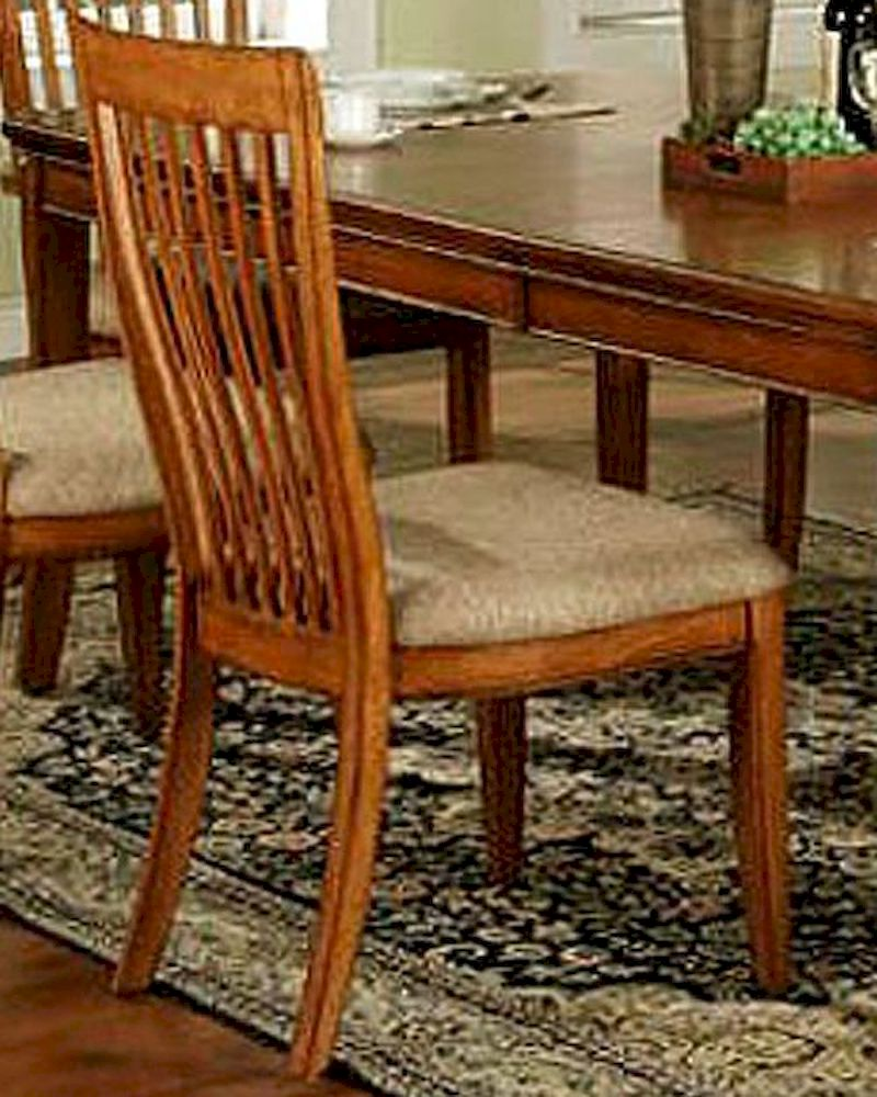Winners Only Topaz Cinnamon Slat Back Side Chair WO DT2450SSet Of 2