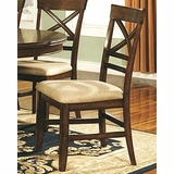 Winners Only Topaz X Back Dining Side Chair WO DTC2451S Set Of 2