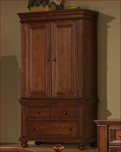 Winners Only TV Armoire Cape Cod in Chocolate WO-BG1008AB