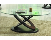 Wood Base Cocktail Table Firth by Homelegance EL-3401W-30