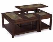 Wood Lift-Top Cocktail Table Gemini by Magnussen MG-T3040-51