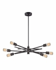 ELK Xenia 6 Light Chandelier in Oil Rubbed Bronze EK-66911-6