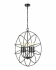 ELK Yardley 6 Light Chandelier in Oil Rubbed Bronze EK-14244-6