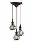 ELK Yardley Collection 3 Light Chandelier in Oil Rubbed Bronze EK-14191-3